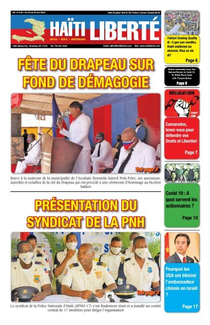 Haiti Liberte 20 Mai 2020