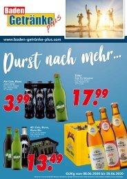 Baden Getränke plus
