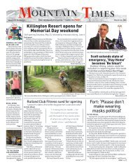 Mountain Times - Volume 49, Number 21 - May 20-26, 2020