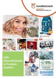 GoodiesCoach Süße Adventskalender in Premium Qualität 2020