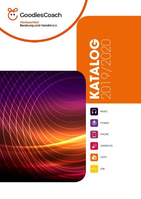 GoodiesCoach Elektronik Katalog 2019