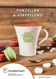 GoodiesCoach Keramik Porzellan Katalog Vol. 1 2020