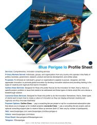 Blue Perigee Io Profile Sheet