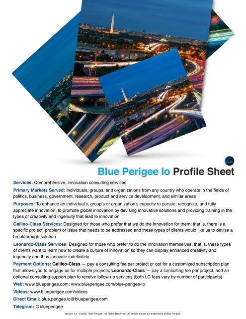 Blue Perigee Io Profile Sheet