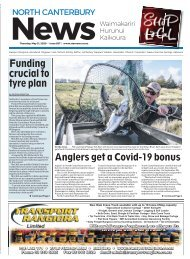 North Canterbury News: May 21, 2020