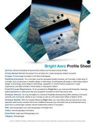 Bright Aero Profile Sheet