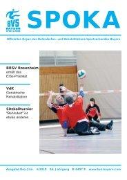Programm - Behinderten- und Versehrten-Sportverband Bayern e.V.