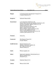 Partnerliste als Download - RHENUS LOGISTICS