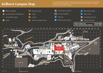 Kelburn Campus Map - Victoria University of Wellington