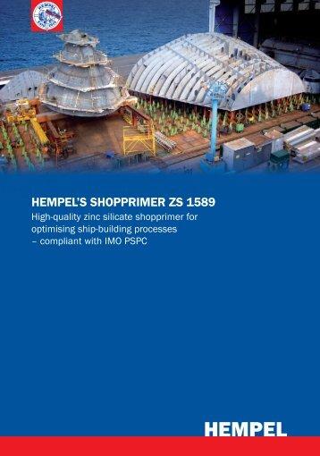 HEMPEL'S SHOPPRIMER ZS 1589