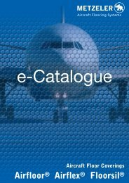 Airfloor® Airflex® Floorsil® - Metzeler Aircraft Flooring Systems