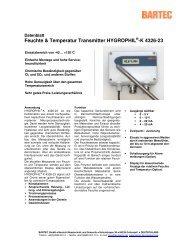 Feuchte & Temperatur Transmitter HYGROPHIL®-K 4326-23