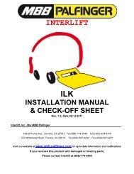 Interlift ILK - It works! - Palfinger