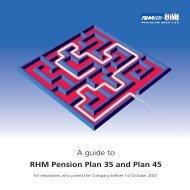 RHM Pension Plan 35 and Plan 45 - RHM Pension Scheme - UK.com
