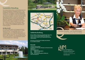 Info-Flyer Premium Hotel- und Komfortleistungen - Christiaan ...