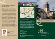 Info-Flyer Reha bei Abhängigkeitserkrankungen