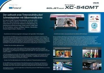 PDF Datenblatt Roland XC-540MT - Aufkleber-Fabrik