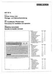 ACF 07 szerelési és kezelési utasítás - Stiebel Eltron
