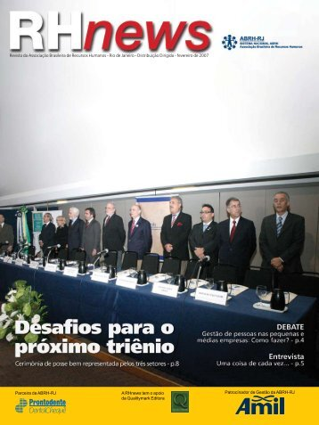 RHnews • fevereiro 2007 • Revista da Associação ... - ABRH-RJ