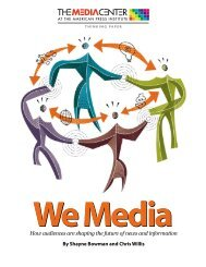 We Media: How audiences are shaping the future of news and ...