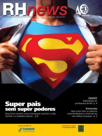 RHnews • agosto 2006 • Revista da Associação ... - ABRH-RJ