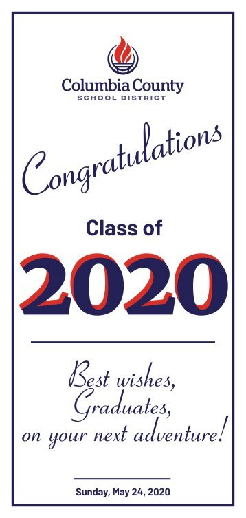 Columbia County Schools Class of 2020
