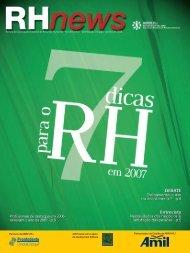 RHnews • janeiro 2007 • Revista da Associação ... - ABRH-RJ