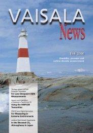 Vaisala News 154 - Full Magazine