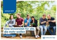 Jahrbuch der FernUniversität 2019
