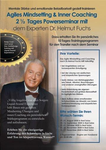 Dr. Helmut Fuchs Agiles Mindsetting & Inner Coaching