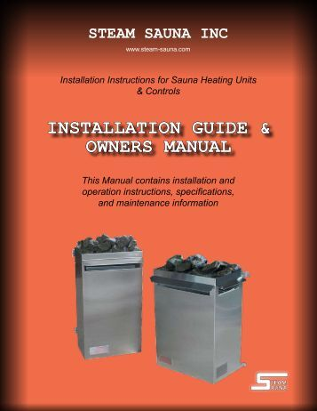 installation guide & owners manual - American Beauty Equipment