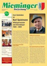 Mieminger Dorfzeitung, Mai 2020