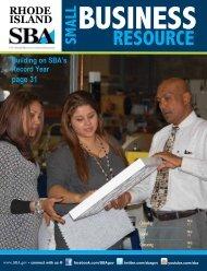 Rhode Island - Small Business Resource Guide - SBA