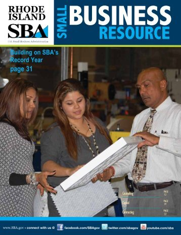 Rhode Island - Small Business Resource Guide - SBA