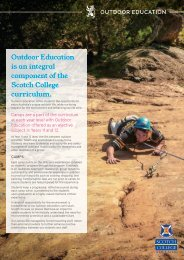 Outdoor Education   Scotch College Adelaide