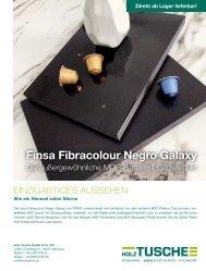 Finsa Fibracolour Negro Galaxy