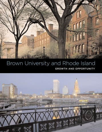 Brown University and Rhode Island