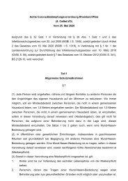 Achte Corona-Bekämpfungsverordnung Rheinland-Pfalz (8. CoBeLVO) - vom 25. Mai 2020