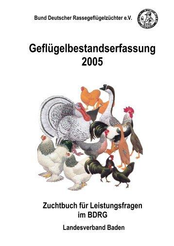 Bund Deutscher Rassegeflügelzüchter eV - Landesverband Baden