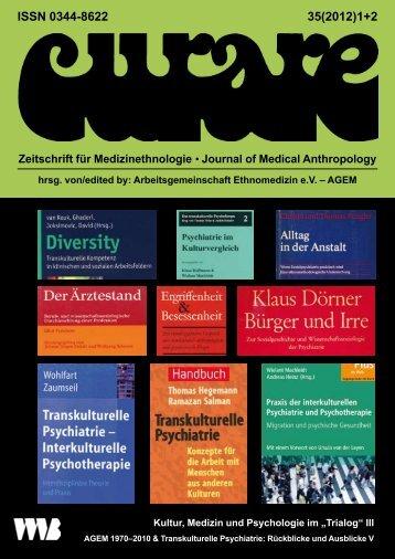 ISSN 0344-8622 35(2012)1+2 - Arbeitsgemeinschaft Ethnomedizin