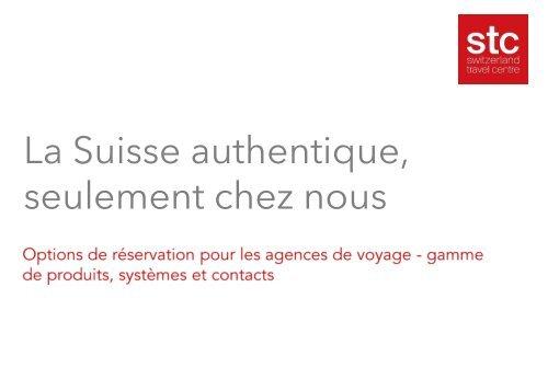Options de réservation des agences de voyage