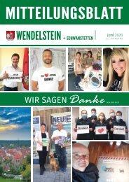 Wendelstein + Schwanstetten - Juni 2020