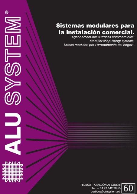 Sistemas modulares para la instalación comercial