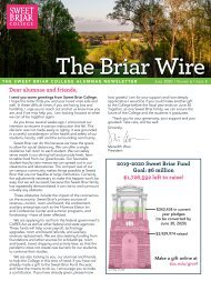 The Briar Wire | Vol. 6, Issue 5 | June 2020 web copy