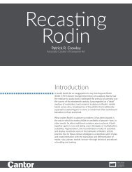Learning Guide | Recasting Rodin