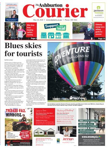 Ashburton Courier: May 28, 2020