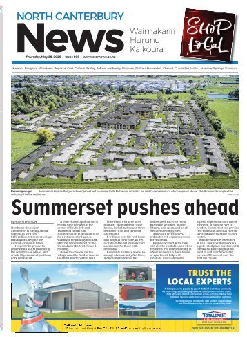 North Canterbury News: May 28, 2020