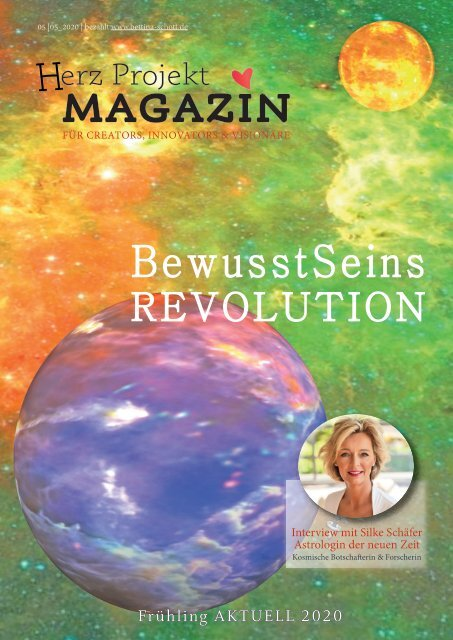 Herz Projekt Magazin Frühling 2020