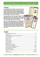 The Comprehension Box Teachers Guide - Box 2 - Page 3