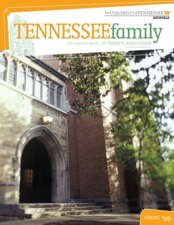 Still - Parents Association - The University of Tennessee, Knoxville